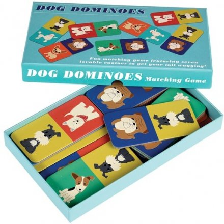 Dog Dominoes  From the fun minds of REX international, is this doggy inspired set of dominos