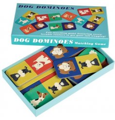 Have hours of fun with all the family with this quirky dog inspired set of dominos