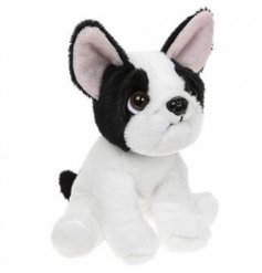 16cm French Bulldog  An adorable little french bulldog soft toy