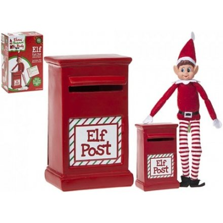 Your mischievous naughty elf figure will now be able to report all on goings action by post!