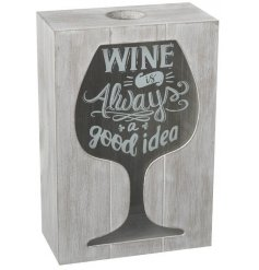 Wooden Box For Wine Corks  One of our best sellers is back in a trendy grey wash tone!