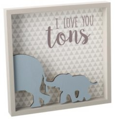 This beautifully finished 3D quoted plaque will add a sweet sentimental touch to any bedroom wall space