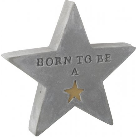Born To Be A Star Cement Star