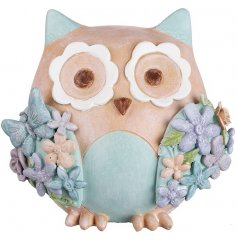 An adorable little owl inspired money bank