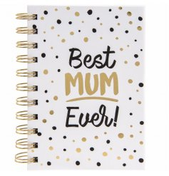 Give this glossy hardback notebook to any loved mum as a great gift idea