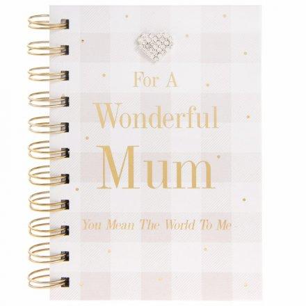 Mad Dots Mum Notebook