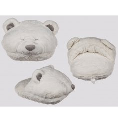 Icy Bear Large Foot Warmer   This super soft and snuggly foot warmer will make a great gift idea this christmas time!