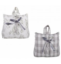 Add a vintage tone to your home space with these chic bag shaped doorstops