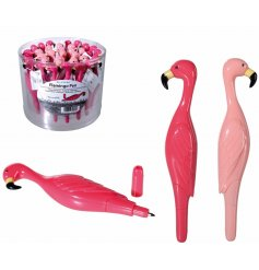 Add a funky twist to your writing sets with these flamingo themed pens
