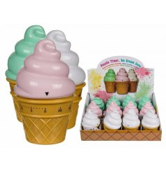 Ice-Cream Kitchen Timer   A delicious looking ice-cream kitchen timer