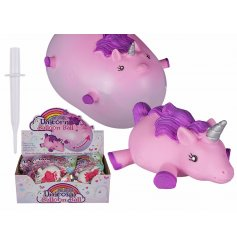A fun pocket money toy for any princess who needs an inflated unicorn balloon