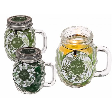 Scented Candle Jars, 2 Assorted
