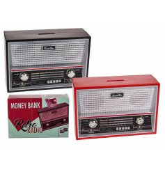 This quirky retro styled radio money box will be sure to make a great gift idea for any avid music fan