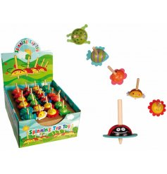 A fun little spinning top in an animal design, sure to keep your little one entertained