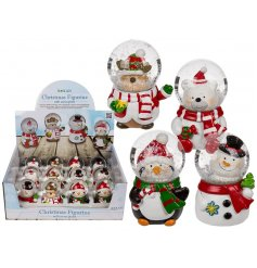 Christmas Snowglobe Friends   This fun assortment of snowglobe friends will make great stocking fillers