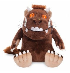 Cuddly Sitting Gruffalo Soft Toy 9in  From the popular childrens book 'The Gruffalo'