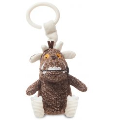 A soft to the touch baby pram toy, in a fun and popular Gruffalo look