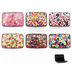 Keep hold of all your credit cards and reward cards inside one of these chic floral printed protectors