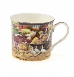 A Country Life Animals Mug