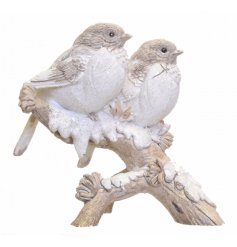 Add a sweet winter touch to your home spaces with these resin based Robin ornaments