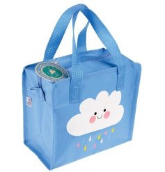 Add some fun to your little ones lunch time with this zip up charlotte bag