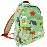 Animal Park Mini Backpack  A fun and wild themed mini backpack for children
