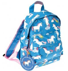 A magical mini unicorn themed backpack for children