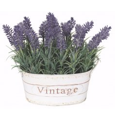 Bring a les fleurs chic touch to your home space with this beautifully finished rustic planter.
