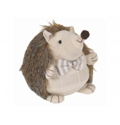 This sweet Hedgehog doorstop will be sure to add a country charm touch to any homes space