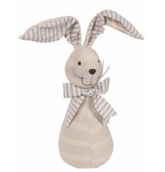This sweet bunny doorstop will be sure to add a country charm touch to any homes pace