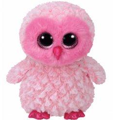 A Twiggy Pink Owl TY Beanie Boo
