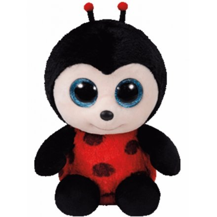 Izzy Lady Bug Beanie Boo TY Soft Toy