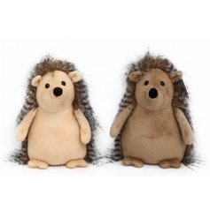 Bring a rustic woodland touch to your home decor with this charming assortment of soft to the touch Hedgehog Doorstops
