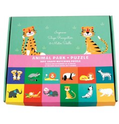 A fun and colourful puzzle set for any little one learning their basics