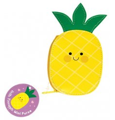 Keep your loose change safe and secure in this totally fruity coin purse