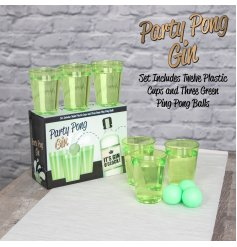 Get your drinks on with this fun and classy version of Beer Pong