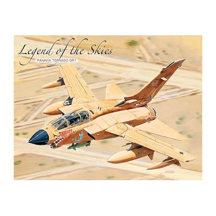 Legend of The Skies Metal Sign