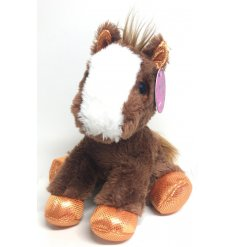 Filled with a super soft stuffing and coated in a soft to the touch fur, a great little gift idea
