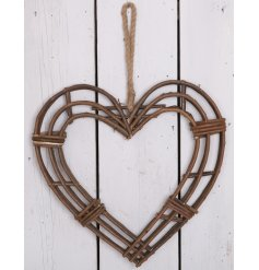 Bring this rustic inspired decorative heart into any space of your home to add a tranquil woodland feel