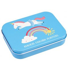 This handy little metal tin will fit perfectly into any bag when out and about with your little ones
