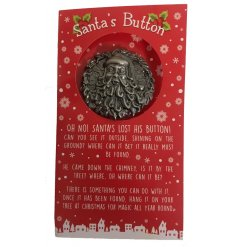 Hide this large round button inside any home and help your little ones find it to reveal that Santa did visit!