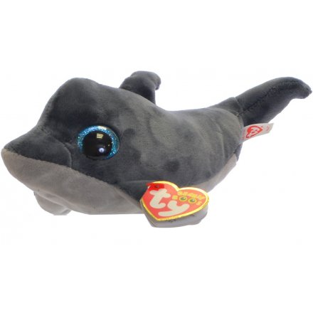 40a3006cde3 36888   Echo Dolphin Beanie Boo TY Soft Toy