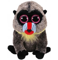 A wasabi the baboon beanie boo soft toy