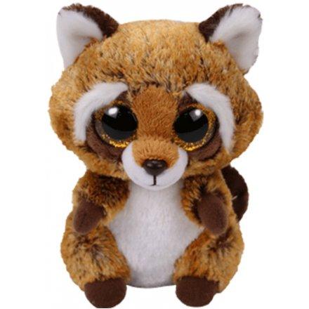Rusty Raccoon Beanie Boo Toy