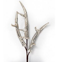 A unique, decorative antler spray in a chic champagne colour. Ideal for dressing vases, trees, wreaths and garlands