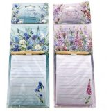 An assortment of 2 Meadow & Garden Magnetic Memo Pad & pencil