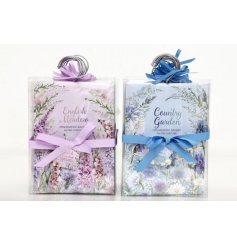 2 Assorted Meadow & Garden Scented Sachets, 60g