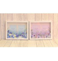An assortment of 2 Meadow & Garden Layered Photo Frames