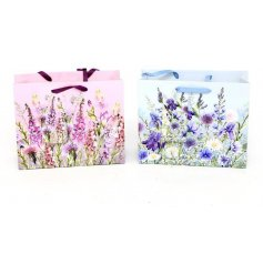 An assortment of 2 Medium sized Meadow & Garden Gift Bags