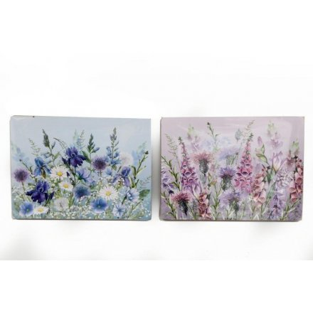 Set Of 4 Meadow & Garden Placemats, 2 Assorted